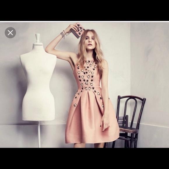 h m dresses hm conscious collection pink dress poshmark